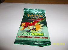 Pokemon Sealed Skyridge Booster Pack  HO - OH   New sealed    $$$$$$$$$$$$$$$$
