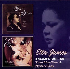 """ETTA JAMES  """"TIME AFTER TIME & MYSTERY LADY""""  2 CD SET 23 TRACKS"""