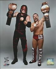 DANIEL BRYAN & KANE WITH TAG TEAM BELTS WWE WRESTLING 8X10 PHOTO NEW # 865