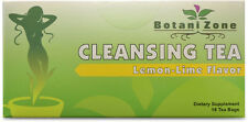 Cleansing Tea Lemon Flavor Helps Weight Loss & Promote Metabolism Made in USA