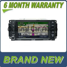 NEW Chrysler Dodge Jeep Navigation Radio GPS DVD Sirius 30GB 430N RHB High-Speed
