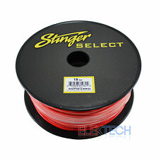 Stinger Select SSPW18RD Audio Primary Cable 18 Gauge Wire Red 500 ft Spool