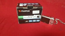 Used In Box FujiFilm FinePix F650 6.0 mp Digital Camera - Silver w/accessories K
