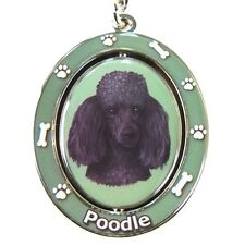 "POODLE [Black] ""Spinning"" Key Chain"