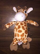 Plüschtier Kuscheltier Stofftier Kinder Ferrero Giraffe Kuh Braun Weiß Sitzt