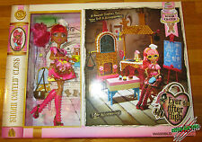 Ever After High SUGAR COATED CLASS PLAYSET KITCHEN AND GINGER BREADHOUSE DOLL