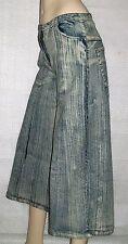 Jupe culotte en jean's ANITA.H.Jeans,style pantacourt évasé,Taille 40/42 Neuve+