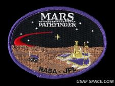 MARS PATHFINDER MISSION Rover Sojourner JPL NASA EXPLORATION SPACE PATCH
