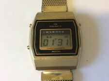 mens ricoh riquartz watch New battery