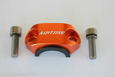 AIRTIME CNC BILLET UNIVERSAL ROTATING BAR CLAMP KTM -ORANGE