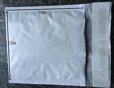 10 pcs 110mm x110mm Bubble Padded Envelopes Mailers Self Seal Shipping Bags