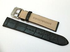NEW 20MM GENUINE LEATHER WATCH STRAP/BAND FOR EMPORIO ARMANI