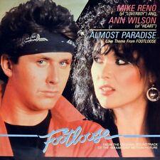 """7"""" MIKE RENO & ANN WILSON HEART Almost Paradise LOVERBOY OST Footloose CBS 1984"""