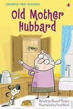 NEW USBORNE First Reading ( LEVEL TWO ) OLD MOTHER HUBBARD  paperback Leve 2