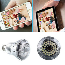 HD 1080P Hidden WIFI IP Light Camera Motion Detection Security CCTV Lamp