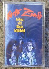 "ENUFF Z'NUFF ""ANIMALS WITH HUMAN INTELLIGENCE""1993 ARISTA-STILL SEALED RARE TAPE"