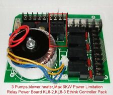 Key Board Ethink hot tub Spa Main Voltage Relay Power Board KL8-2, KL8-3, TCP8-3