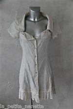 jolie robe blouse été en coton  INDIES taille 1 (36)  ÉTAT NEUF