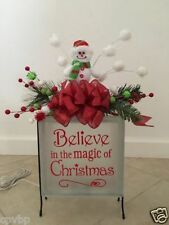 Believe in the magic of Christmas Decal Sticker for Glass Block DIY Crafts