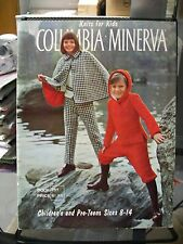 KNITS FOR KIDS BY COLUMBIA MINERVA CHILDREN'S AND PRE-TEENS SIZES 8-14 PATTERNS