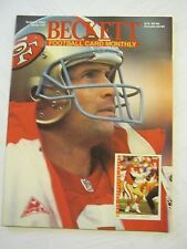 October 1993 Issue #43 Beckett Football Card Monthly Magazine (GS2-21)