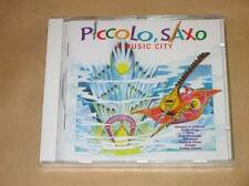 CD / PICCOLO SAXO A MUSIC CITY / FRANCOIS PERIER / RARE / NEUF SOUS CELLO