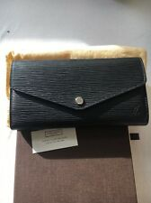 Louis Vuitton Sarah Wallet Black Épi Leather RRP£530