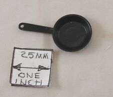 Frying Pan / Skillet - dollhouse miniature MUL1393B  1/12 scale Multi Minis USA