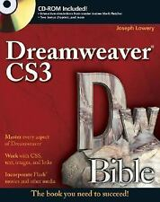 Dreamweaver CS3 Bible-ExLibrary