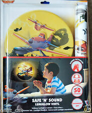 DISNEY PIXAR PLANES SAFE 'N' SOUND LUMIGLOW AND WALL STICKERS BRAND NEW & SEALED