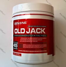 GENONE OLD JACK PRE-WORKOUT. FREE SHIPPING!!!!