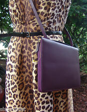 Kate Spade Saturday Leather Crossbody Folio Case iPad Air Plum New Purse Bag