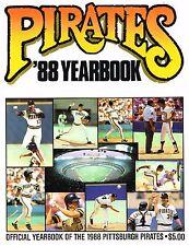 1988 Pittsburgh Pirates MLB Baseball YEARBOOK