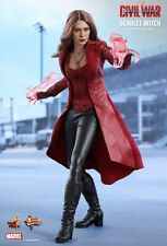 Scarlet witch Hot Toys 1/6 figure (captain america guerre civile) elizabeth olsen uk