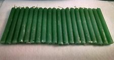 "20 Green Chime Spell Candles Mini 4"" Pagan Wicca Hoodoo Santeria Altar Ritual"