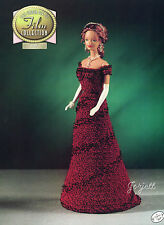 Titanic, Annie's Golden Age of Film Collection crochet patterns fit Barbie dolls