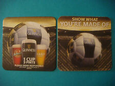 Beer Coaster    Show What You're Made Of  Guinness Harp Smithwick 1 Cup 3 Pints