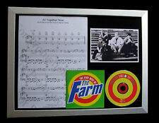 THE FARM All Together Now TOP QUALITY CD LTD FRAMED DISPLAY+EXPRESS GLOBAL SHIP