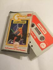 LASER LORD SINCLAIR ZX SPECTRUM 48K CASSETTE TAPE GAME By CENTURY CITY
