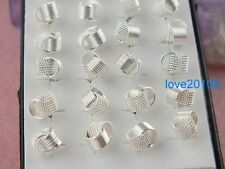 New!! wholesale 40pcs silver lines ball stud Earring