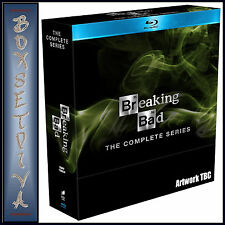 BREAKING BAD- THE COMPLETE SERIES - SEASONS 1 2 3 4 & 5**BRAND NEW BLU RAY**