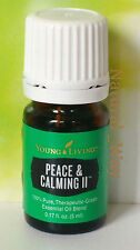 Young Living PEACE and CALMING II 5ml Essential Oil #5327 SEALED, VERY FRESH!