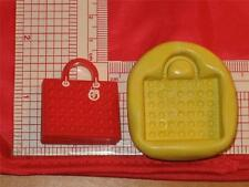 Bag Purse Silicone Mold 737 For Fondant Cake Topper Polymer Clay Chocolate Candy