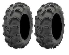 Pair of ITP Mud Lite (6ply) ATV Tires 25x8-12 (2) 25-8-12 6 PLY