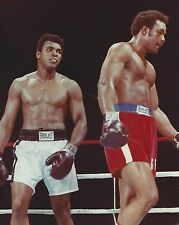 MUHAMMAD ALI vs GEORGE FOREMAN 8X10 PHOTO BOXING PICTURE