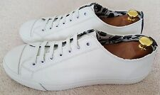 Paul Smith Leather Trainers Size UK 11 Indie White