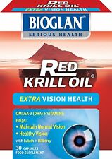 Bioglan Red Krill Oil Vision 30 Tablets