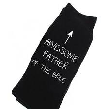Awesome Father Of The Bride Socks Weddng Day Mens Gift Present Marriage