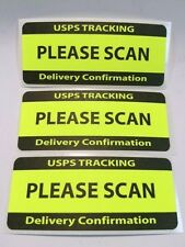 USPS TRACKING DELIVERY CONFIRMATION PLEASE SCAN Labels/Stickers 250 1.25 x 3