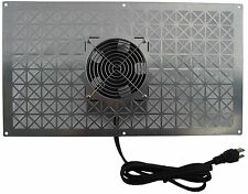 Tjernlund CS1 Crawl Space Intake Fan- Supply Ventilator UnderAire Vent for V1D